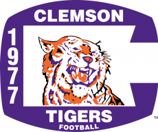 Clemson Tigers 1977 Misc Logo iron on transfer
