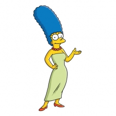 Marge Simpson 2 decal sticker
