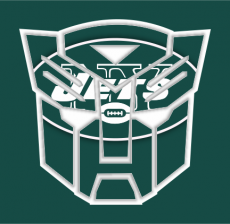 Autobots New York Jets logo iron on transfer