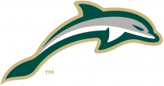 Jacksonville Dolphins 2018-Pres Alternate Logo 02 decal sticker