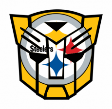 Autobots Pittsburgh Steelers logo iron on transfer