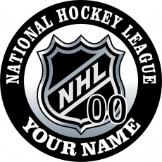 National Hockey League decal sticker