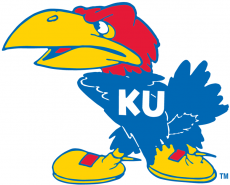 Kansas Jayhawks 1941-1945 Primary Logo iron on transfer