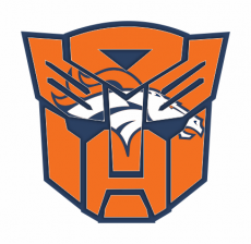 Autobots Denver Broncos logo iron on transfer