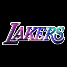 galaxy los angeles lakers decal stickers