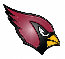 arizona cardinals 2005-pres primary plastic effect logo iron on transfer