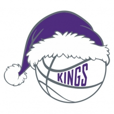 Sacramento Kings Basketball Christmas hat iron on transfer