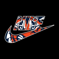 Detroit Tigers nike logo decal sticker
