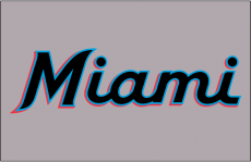 Miami Marlins 2019-Pres Jersey Logo 03 decal sticker