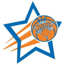 New York Knicks Basketball Goal Star iron on transfer