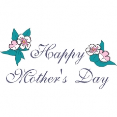 Happy Mother's Day DIY decals stickers version 3