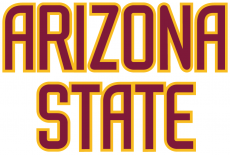 Arizona State Sun Devils 1996-2010 Wordmark Logo iron on transfer