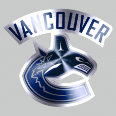 Vancouver Canucks Stainless steel logo decal sticker