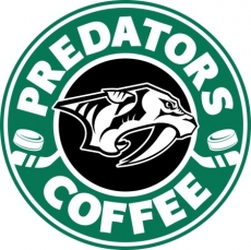 nashville predators starbucks coffee logo iron on transfer