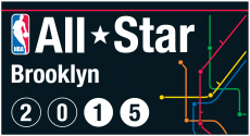 NBA All-Star Game 2014-2015 Alternate iron on transfer