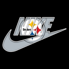 Pittsburgh Steelers nike logo decal sticker