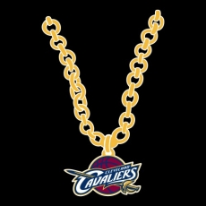 Cleveland Cavaliers necklace logo iron on transfer