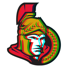 Phantom Ottawa Senators logo iron on transfer