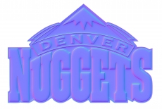 denver nuggets 2009-pres primary colorful embossed logo iron on transfer