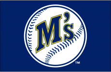 Seattle Mariners 1987-1992 Primary Dark Logo iron on transfer