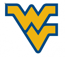 1980-Pres West Virginia Mountaineers Primary iron on sticker