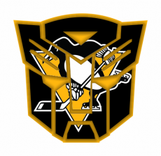 Autobots Pittsburgh Penguins logo