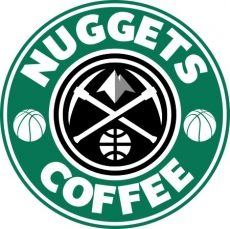 Product image/denver nuggets starbucks coffee logo decal sticker