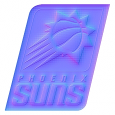 phoenix suns 2014-pres primary colorful embossed logo iron on transfer