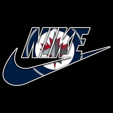 Winnipeg Jets nike logo iron on sticker