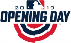 MLB Opening Day 2019 iron on transfer