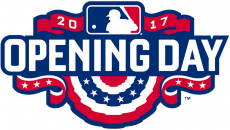 MLB Opening Day 2017 iron on transfer