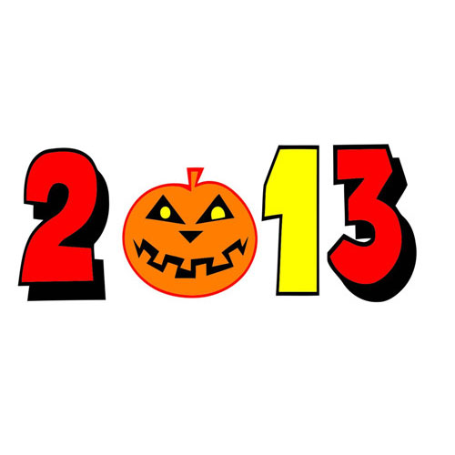 2013 Halloween Party shirt Heat transfer