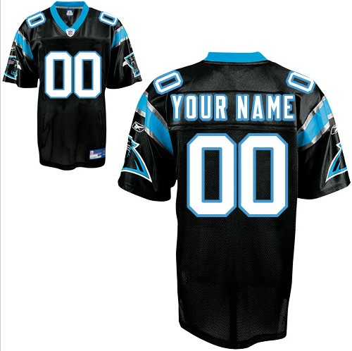 Carolina Panthers Custom Letter and Number Kits For Team Color Jersey