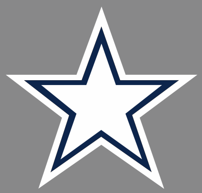 Dallas star Logo iron on transfer