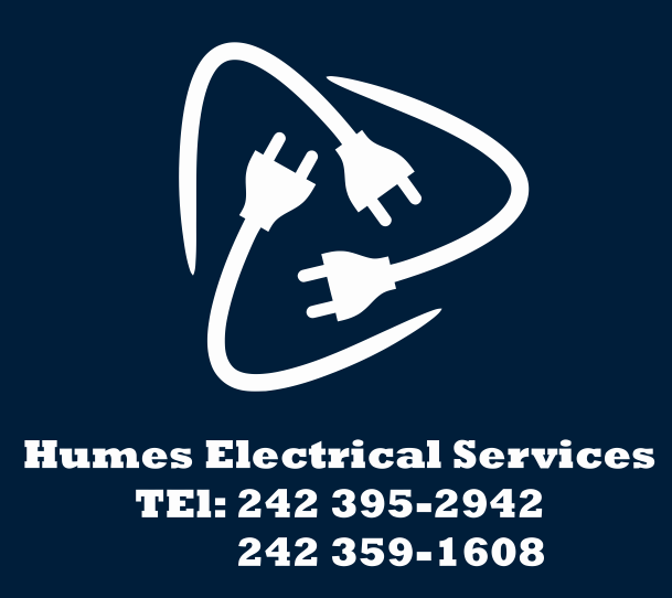 Humes Electrical Logo iron on
