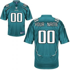 Jacksonville Jaguars Custom Letter and Number Kits For Team Color Jersey