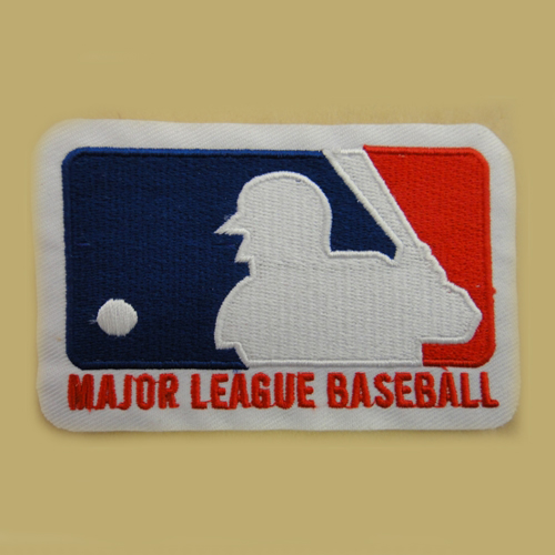MLB Logo Embroidered Iron On Patches