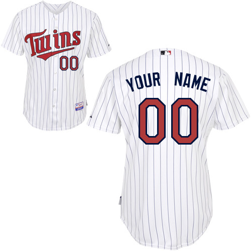 Minnesota Twins Custom Letter And Number Kits For Home Jersey