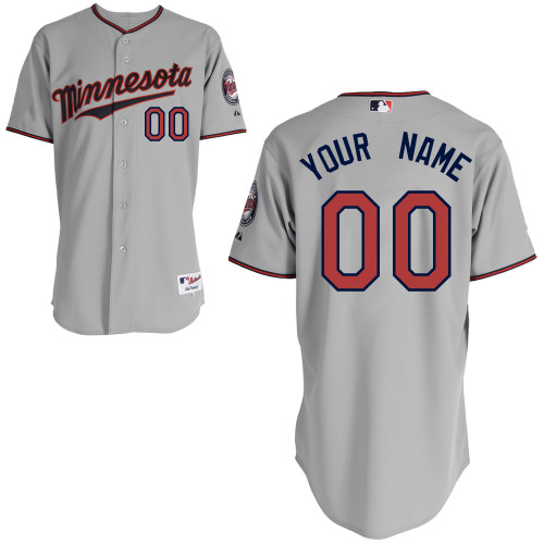 Minnesota Twins Custom Letter And Number Kits For Road Jersey