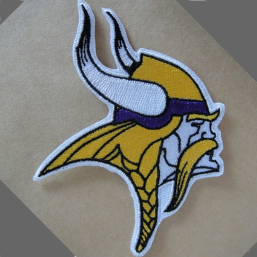 Minnesota Vikings Logo Patches