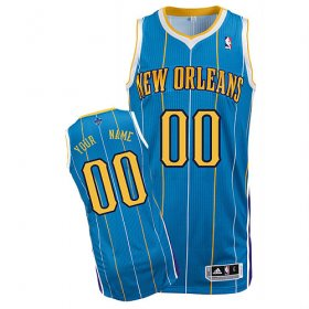 New Orleans Hornets Custom Letter And Number Kits For Road Jersey