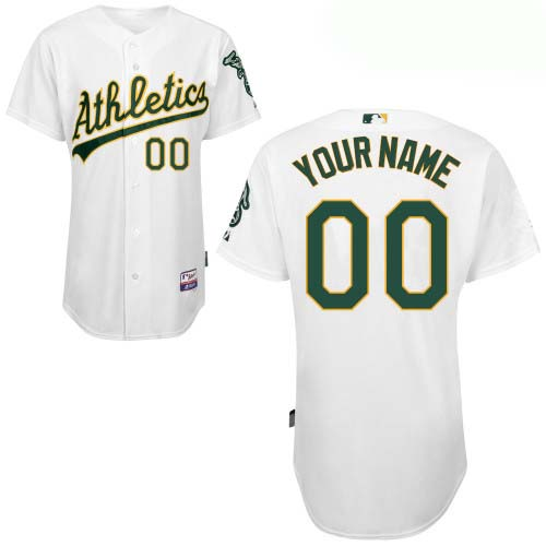 Oakland Athletics Custom Letter And Number Kits For Home Jersey