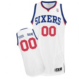 Philadelphia 76ers Custom Letter And Number Kits For Home Jersey