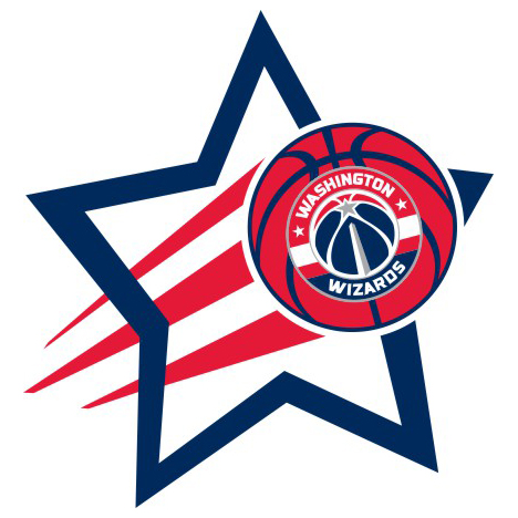 Washington Wizards Basketball Goal Star decal sticker
