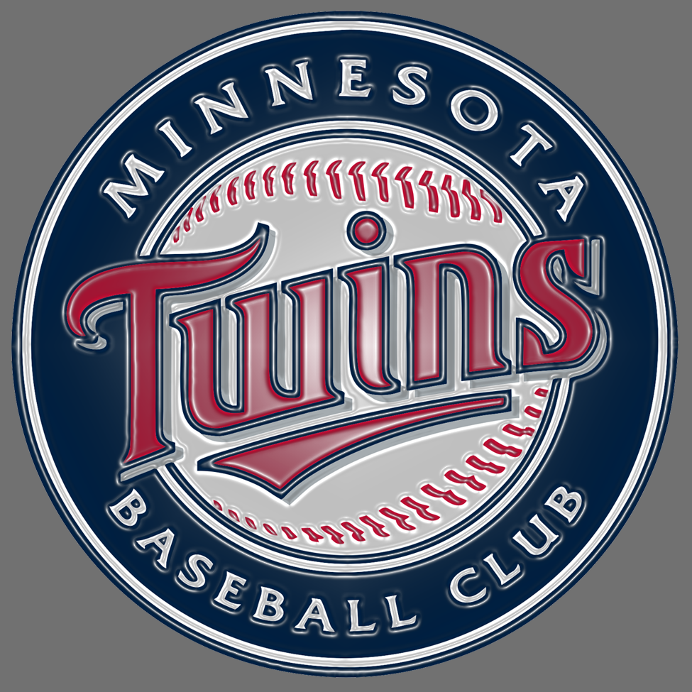 minnesota twins 2010-pres primary plastic effect logo decal sticker
