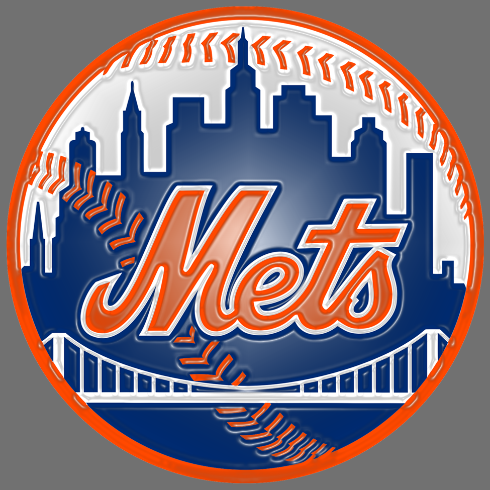 new york mets 1999-pres primary plastic effect logo decal sticker