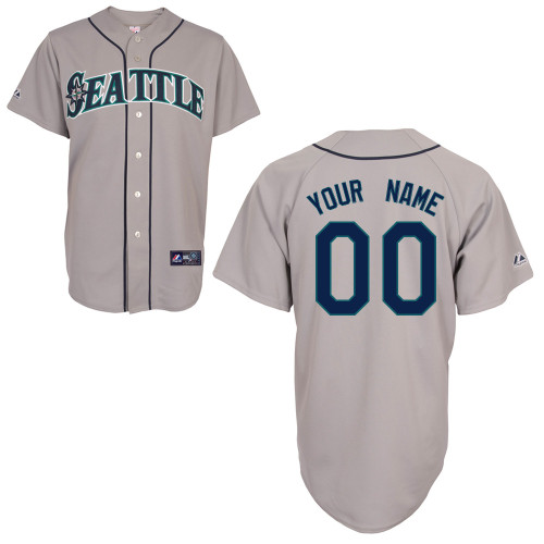 Seattle Mariners Custom Letter And Number Kits For Road Jersey