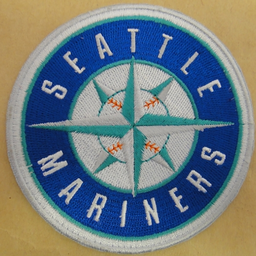 Seattle Mariners Logo Embroidered Iron On Patches