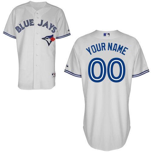 Toronto Blue Jays Custom Letter And Number Kits For Home Jersey
