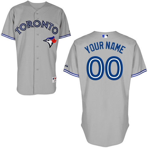 Toronto Blue Jays Custom Letter And Number Kits For Road Jersey